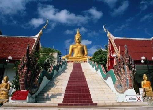 Ожившие статуи Будды