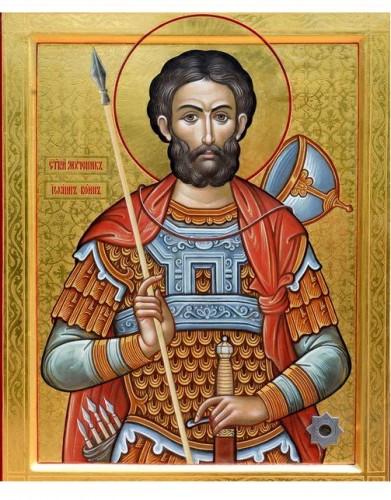 Помощь святого мученика Иоанна Воина