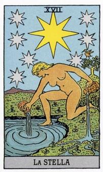 XVII Звезда Карты Таро в стихах