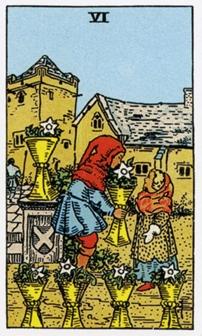 VI Кубков Карты Таро в стихах
