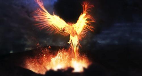 Сжигай себя изнутри как птица феникс