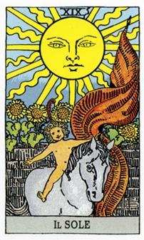XIX Солнце Карты Таро в стихах
