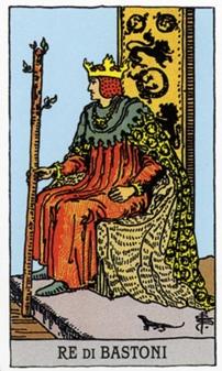 Король Жезлов Карты Таро в стихах