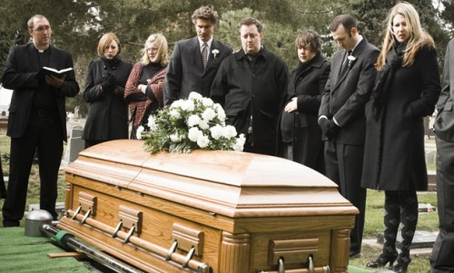 Похороны как  праздник