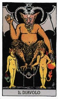 XV Дьявол Карты Таро в стихах