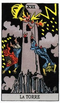 XVI Башня Карты Таро в стихах