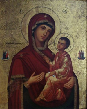 Чудотворная Тихвинская икона Пресвятой Богородицы
