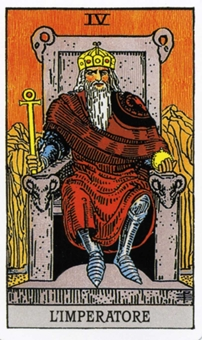 IV Император Карты Таро в стихах