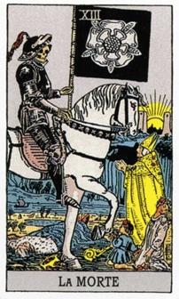 XIII Смерть Карты Таро в стихах